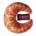 Gigantyczny Grzejący Rogal Croissant prezent dla przyjaciółki na święta