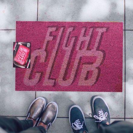 Wycieraczka – Fight Club prezent dla chłopaka nietypowe wycieraczki