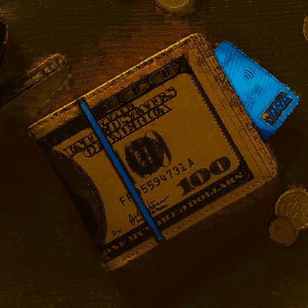 Dolarowy Portfel Bogacza prezent na mikołajki w pracy