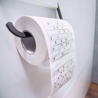 Papier Toaletowy Sudoku toaletowe łamigłówki do rozwiązywania