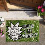 Wycieraczka Rick and Morty – Get Schwifty gadżety serialowe Rick& Morty