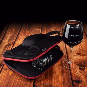 Etui podróżne na szkło do whisky i wina