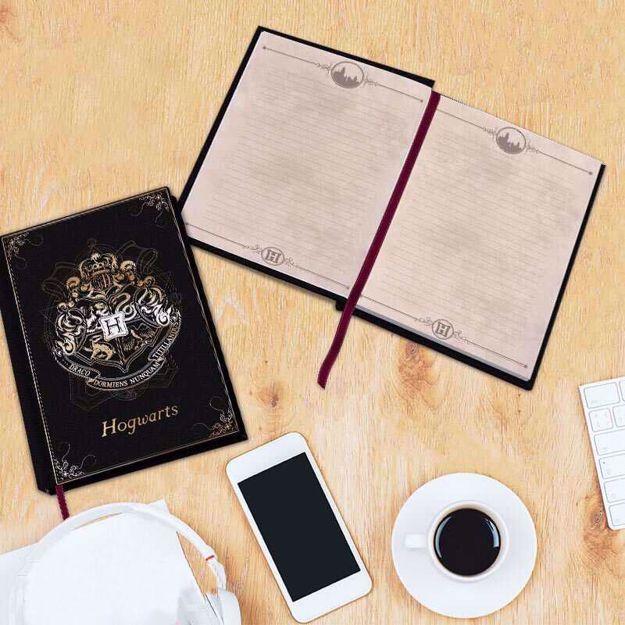 Harry Potter – Notes Hogwart Premium elegancki notes do zapisywania
