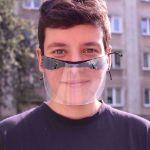 Mini Przyłbica Ochronna przyłbice nie parują okulary