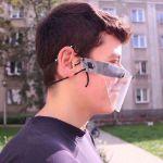 Mini Przyłbica Ochronna przyłbice nie parują okulary sklep w warszawie