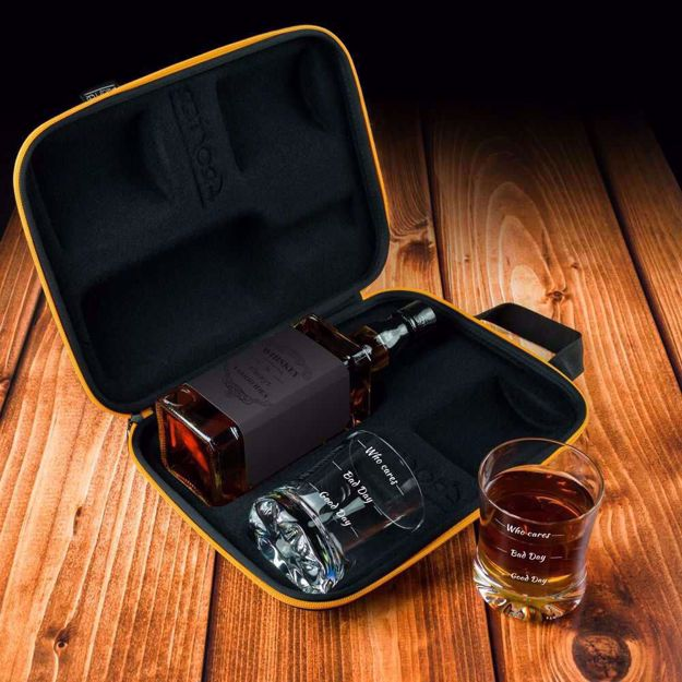 Etui na Whisky ze Szklankami oficjalny prezent dla szefa