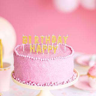 Świeczki Urodzinowe Happy Birthday gadżety urodzinowe