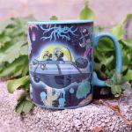 Rick & Morty – Magiczny Kubek Statek Kosmiczny prezent dla brata