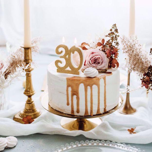 Świeczka Urodzinowa 30 gadżety imprezowe