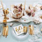 Świeczka Urodzinowa 60 dekoracje urodzinowe