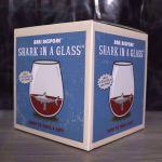 Szklanka z Rekinem szklanki do whisky
