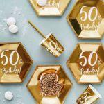 Talerzyki Urodzinowe 50 prezenty urodzinowe z 50