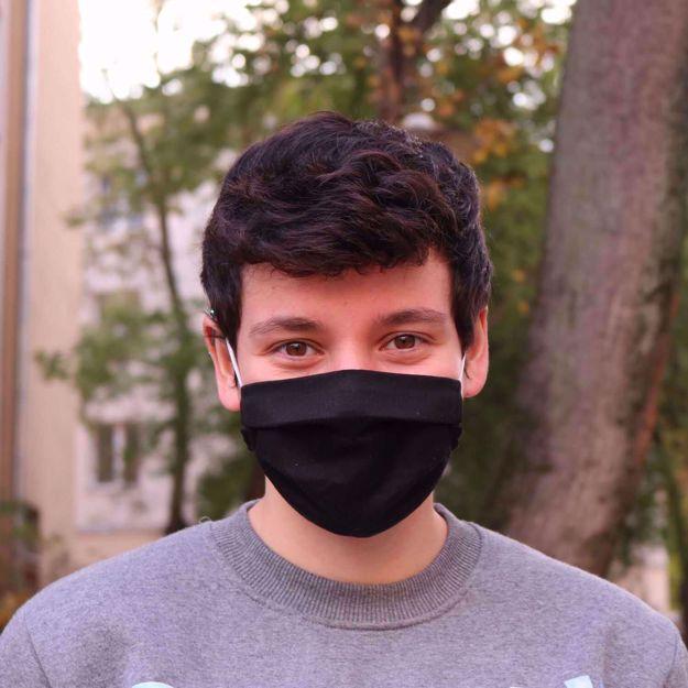Maseczka Ochronna – Czarna maseczki czarne dla mężczyzn