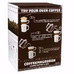 CoffeMachine - Dripper i Kubek do Kawy gadżety do kawy na prezent