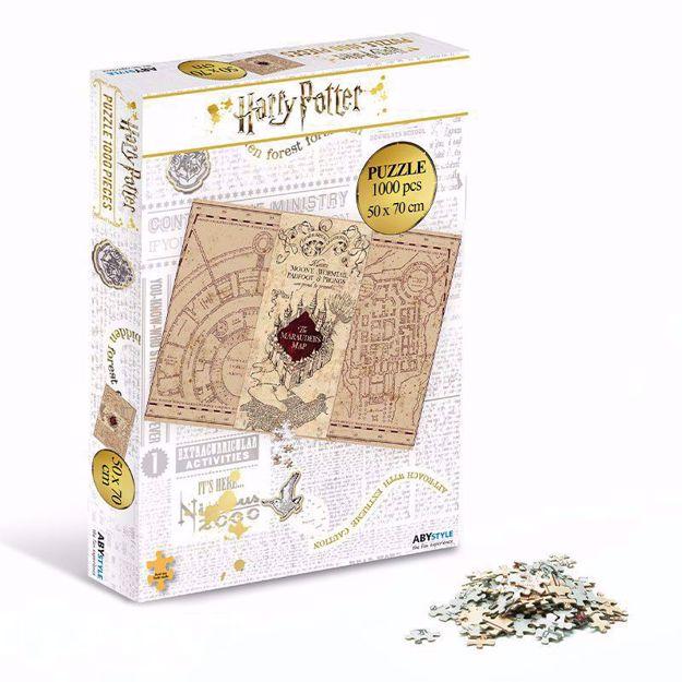 Puzzle Mapa Huncwotów prezent dla siostry