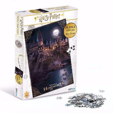Harry Potter Puzzle Hogwart prezent dla siostry na mikołajki