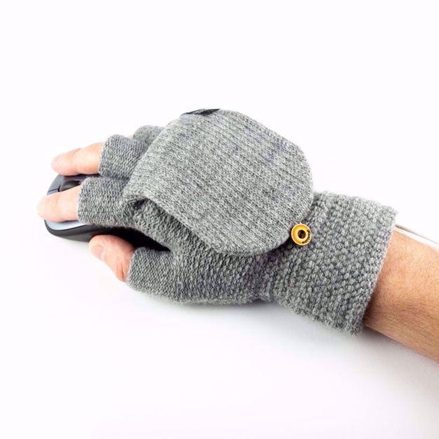 Grzejące Rękawiczki USB prezent świąteczny