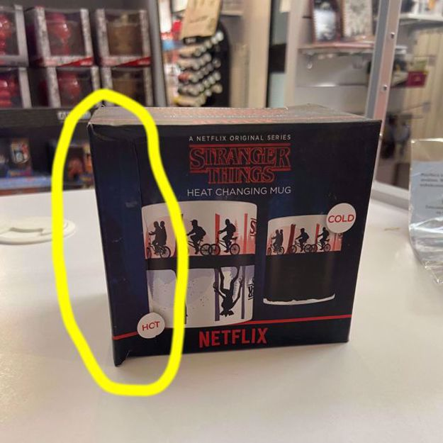 Outlet Stranger Things - Magiczny Kubek Alfabet