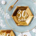 Talerzyki Urodzinowe 30 gadżety urodzinowe