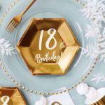 Talerzyki Urodzinowe 18 gadżety urodzionowe