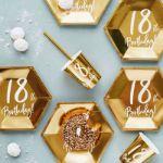 Talerzyki Urodzinowe 18 dekoracje na imprezę