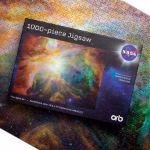 Puzzle NASA – Galaxy Blue gadżety NASA