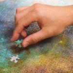 Puzzle NASA – Galaxy Blue prezent dla brata