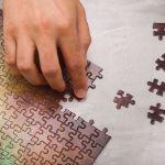 Puzzle NASA – Galaxy Blue prezent dla męża