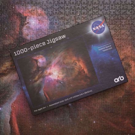 Puzzle NASA – Galaxy Pink gadżety nasa