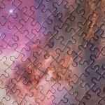 Puzzle NASA – Galaxy Pink prezent dla brata