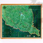 Mapa Zdrapka – Szlaki w Bieszczadach prezent na święta
