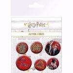 Harry Potter – Przypinki gadżety z Harrego Pottera na prezent mikołajkowy