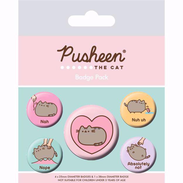 Pusheen – Przypinki gadżety z pusheenem dla siostry