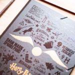 Harry Potter - Teczka A4 prezent dla siostry na mikołajki
