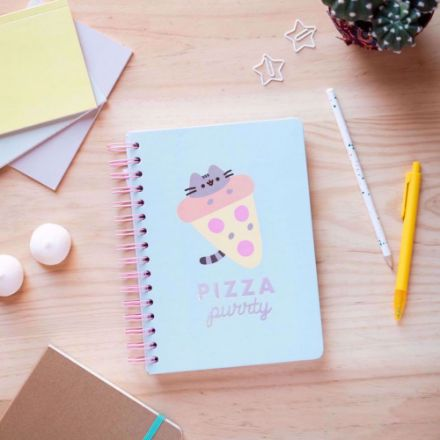 Pusheen – Notes Pizza Purty notesy bullet journal