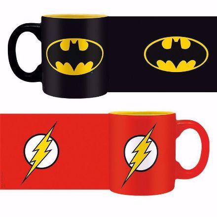 DC Comics – Kubeczki do Espresso Batman & Flash kubki do espresso