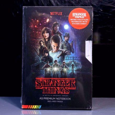 Stranger Things – Notatnik A5 – Kaseta VHS notes Netflix