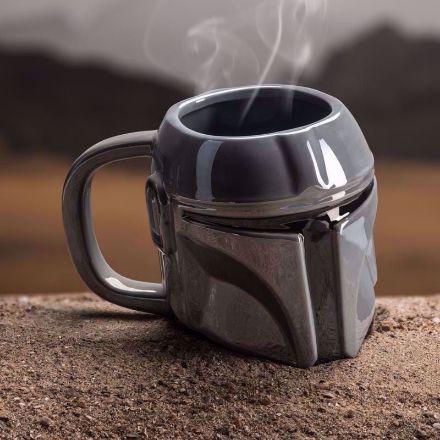 Star Wars - Kubek 3D Mandalorian  kubek w kształcie hełmu mandaloriana