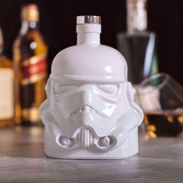 Star Wars – Karafka StormTrooper – Biała gadżety do whisky na prezent