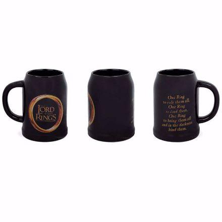 Lords of The Rings - Kufel do Piwa - Pierścień cermiczny kufel do piwa
