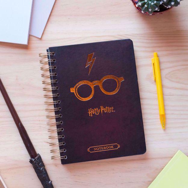 Harry Potter – Okulary – Notes A5 bullet journal harry potter