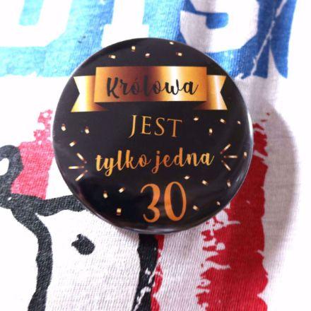 Przypinka 30 – latki odznaka 30-latki