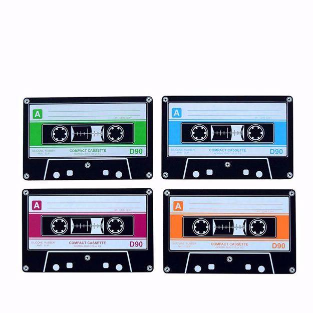 Podkładki Kasety podkładki pod kubki kasety