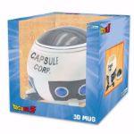 Dragon Ball – Kubek 3D – Capsule Corp Statek Kosmiczny prezent dla męża