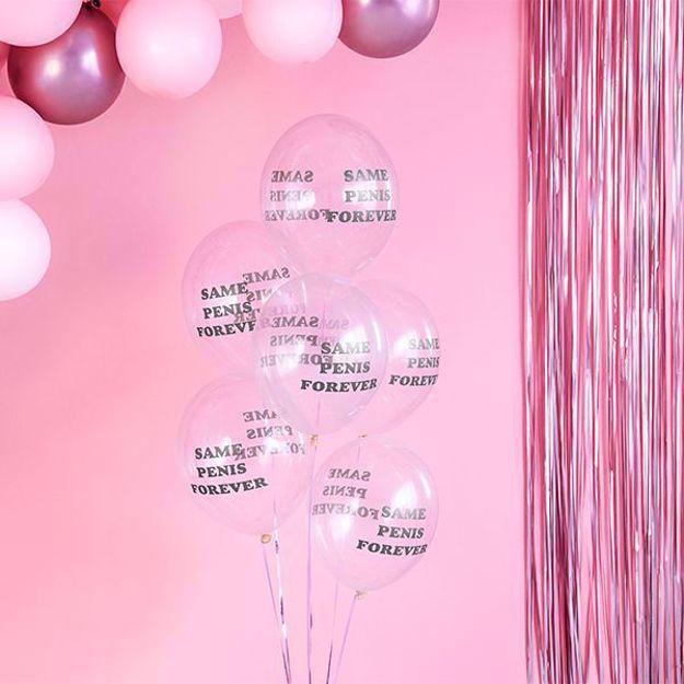 Balony Same Penis Forever balony na wieczór panieński