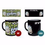 Rick and Morty – Magiczny Kubek – Get Schwifty rick and morty heat change mug