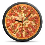 Zegar Pizza prezent na parapetówkę