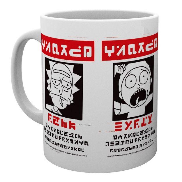 Rick and Morty – Kubek Wanted rick and morty wanted mug