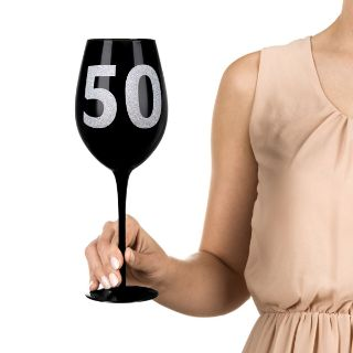 Gigantyczny kieliszek 50 prezent dla niej