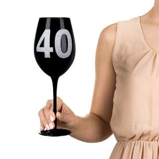 Gigantyczny kieliszek 40 prezenty urodzinowy dla kobiet warszawa